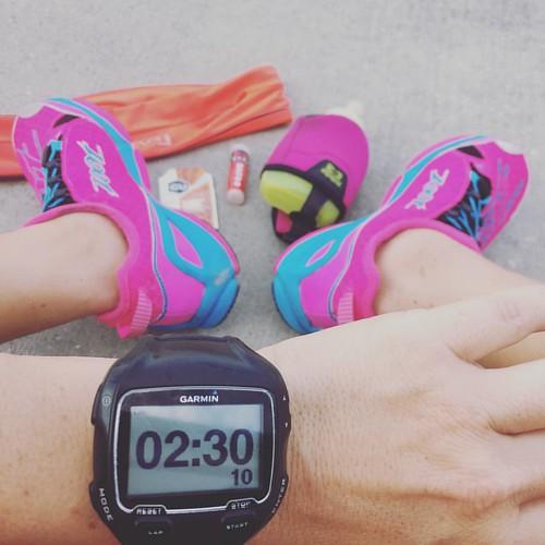Bittersweet!! This might be my last longer run before #ironmanbarcelona !!! 15 miles. #triouradventure #triathletesarecrazy #trainhard #playhard @zootsports @teamzootse @flipbelt @guenergylabs @baseperformance #sponsored