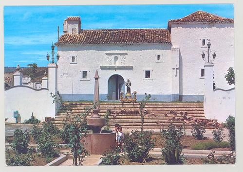 Talayuelas (Cuenca) : Plaza y ermita de nuestro Patrón= Place et ermitage de notre Patron= Nuestro Patron Square and Chapel