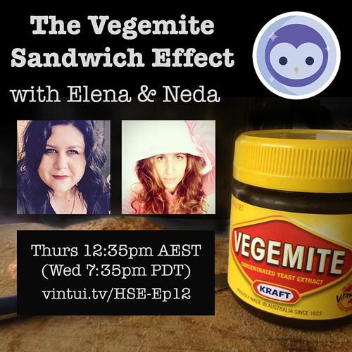 The Vegemite Sandwich Effect