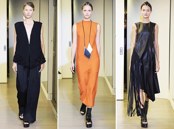 Victor Alfaro Spring 2016 NYFW Collection