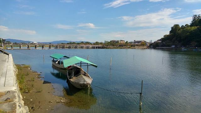 Landing at Arashiyama