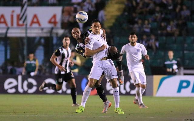 Com gol de Gabriel, Santos vence o Figueirense pelo placar m�nimo e abre vantagem nas quartas