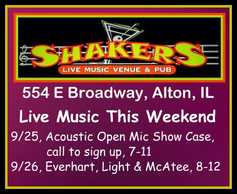 Shakers 9-25, 9-26-15