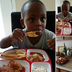 My 2 year old grandson Phy-Nist. He eats everything in his plate as if he has one rule that he will never break. Never Waste Food. #tagram #baby #proudmommy #goodfood #2yearsold :kiss::heartpulse::gift_heart:️:heart:️:ok_hand::thumbsup::wink: