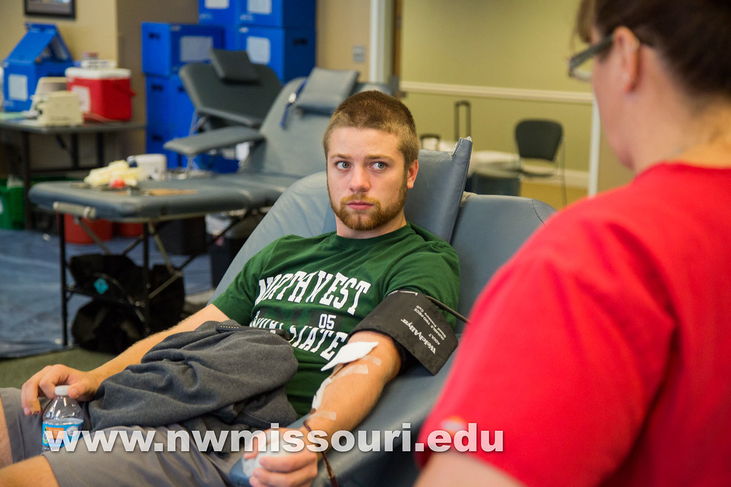 Student Senate blood drive