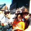 Family fun at the Giants game