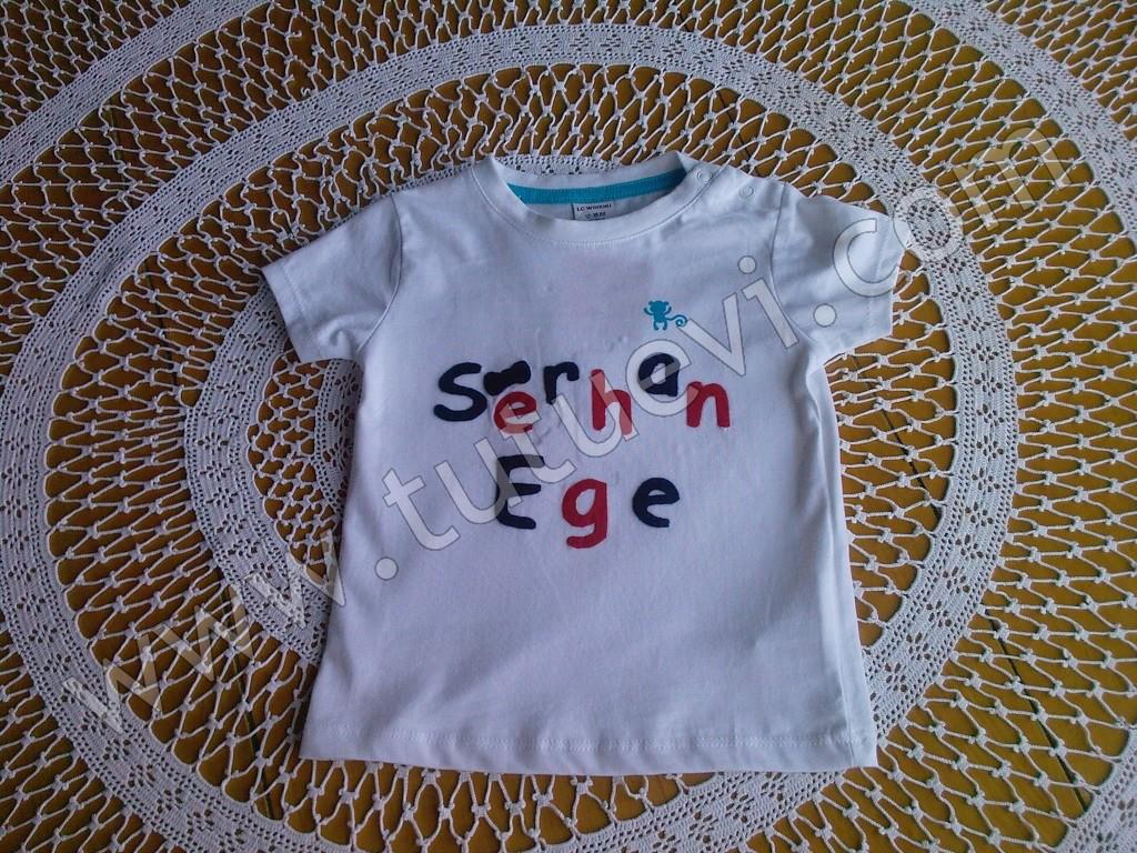 Sevda Hanımın prens oğluna özel olarak hazırladığımız tişört hazır, mutlu günlerde giymesini diliyoruz.