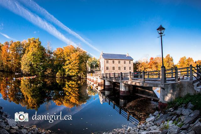 Watson's Mill in autumn