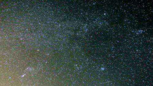 銀河が見えるかも