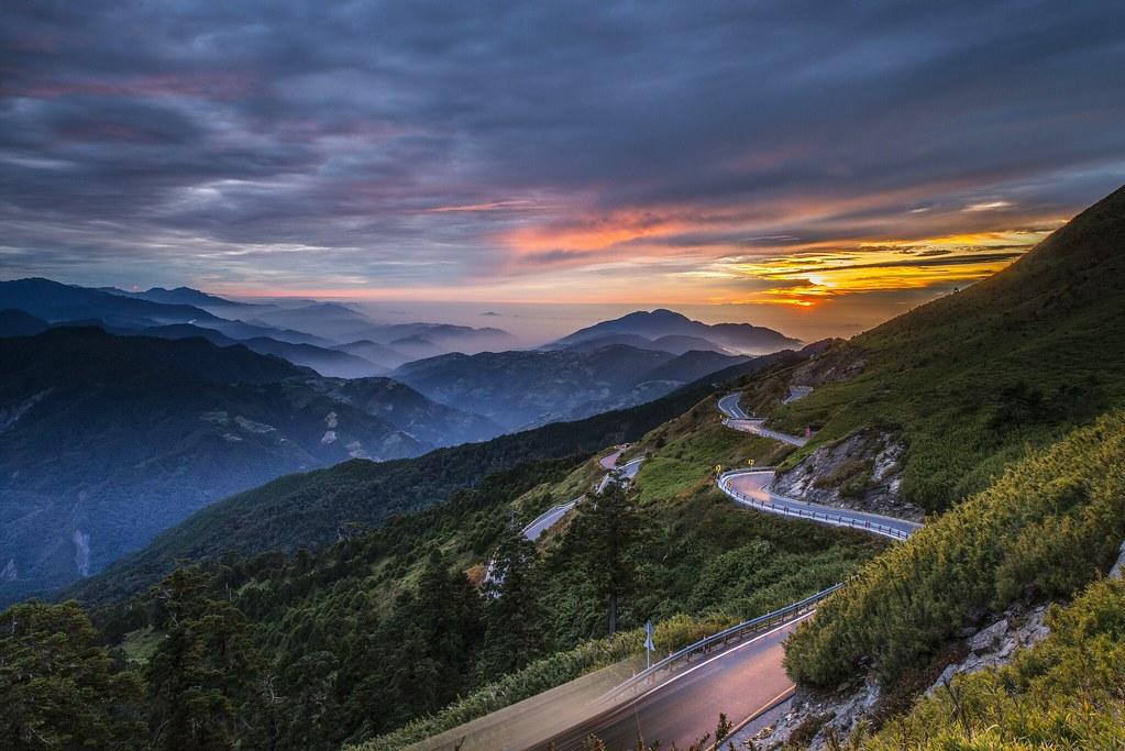 昆陽夕照 - Hehuan Mountain, Taiwan