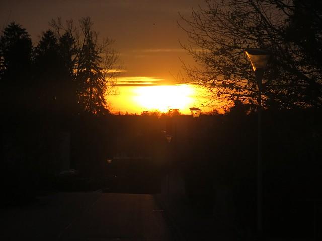 Sunset in Feldbrunnen