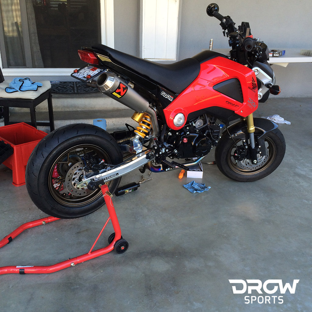 Honda Grom Build >> Drew S Drowsports Honda Grom Build
