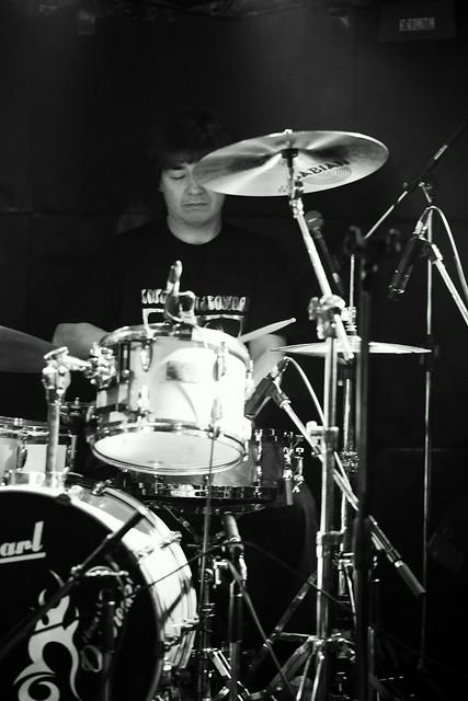 ファズの魔法使い live at Outbreak, Tokyo, 12 Nov 2015. 226p