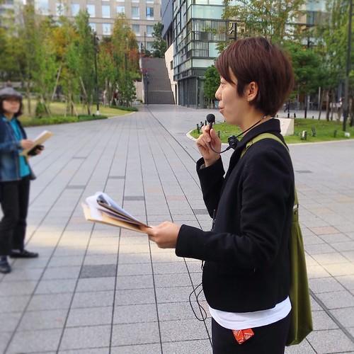 宍戸さん。お疲れ様でした。 #3331artschiyoda #千代田区ディスカバリーミュージアム秋ツアー