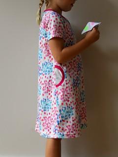safari dress: spots