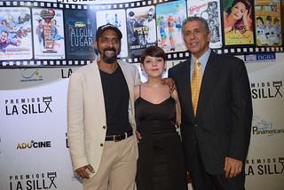 Gerardo El Cuervo Mercedes, Cynthia Fermín, Vlad Sosa. Premios La Silla.