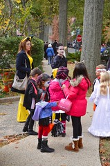 Trick-Or-Treating On Burns Street