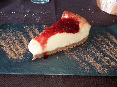 Zaragoza | Sopa de ganso | Tarta de queso
