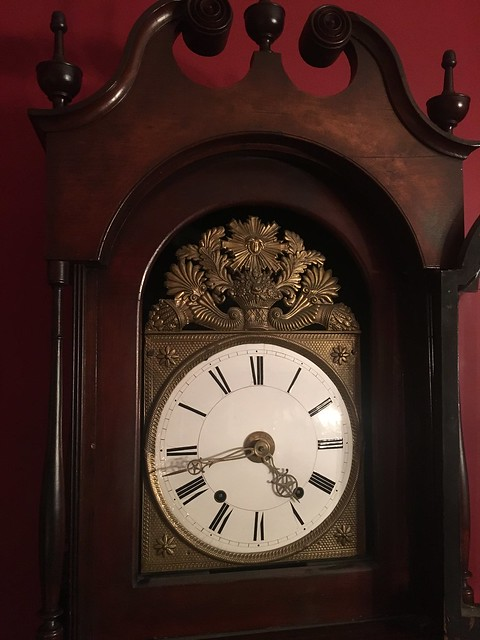 We Finally Fixed Our Antique Morbier Grandfather Clock
