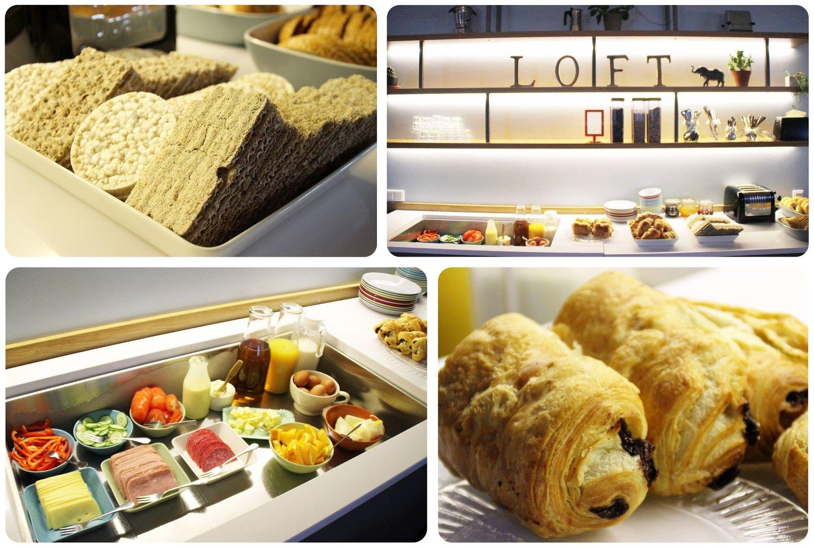 Reykjavik Loft Hostel Breakfast
