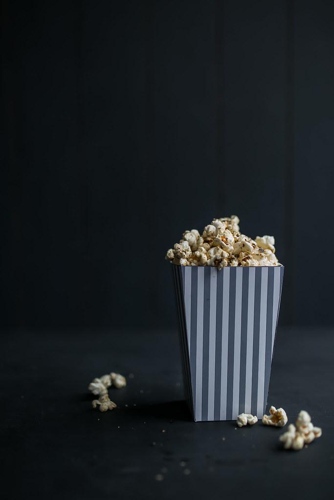 Sweet & Salty Nori Popcorn