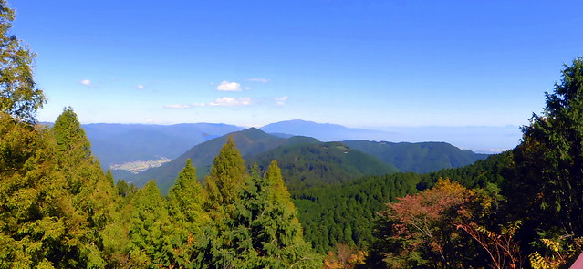 North from Mt Hiei