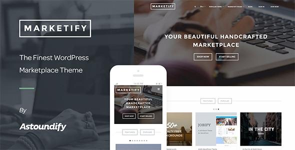 ThemeForest Marketify v2.1.0 - Digital Marketplace WordPress Theme