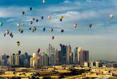 Hot air Baloons , Dubai