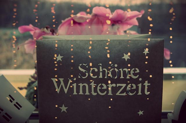 Schöne Winterzeit