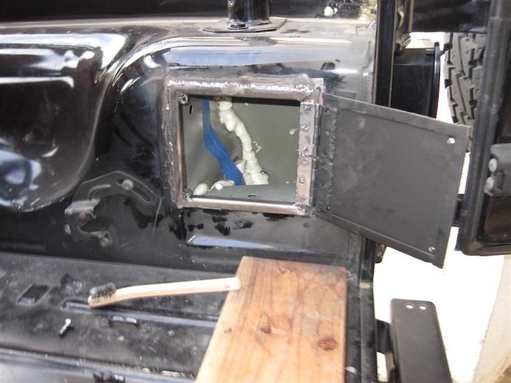 Jeep DIY storage mod1