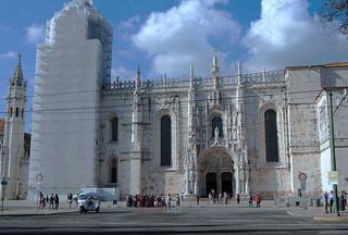 Jerónimos Monastery görüntü. portugal lisbon harveybarrison hbarrison