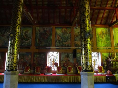 Chiang Rai: le temple Wat Jet Yod