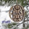 Stars. Christmas tree ornament by cartonus