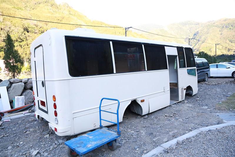 公車改建的衛浴