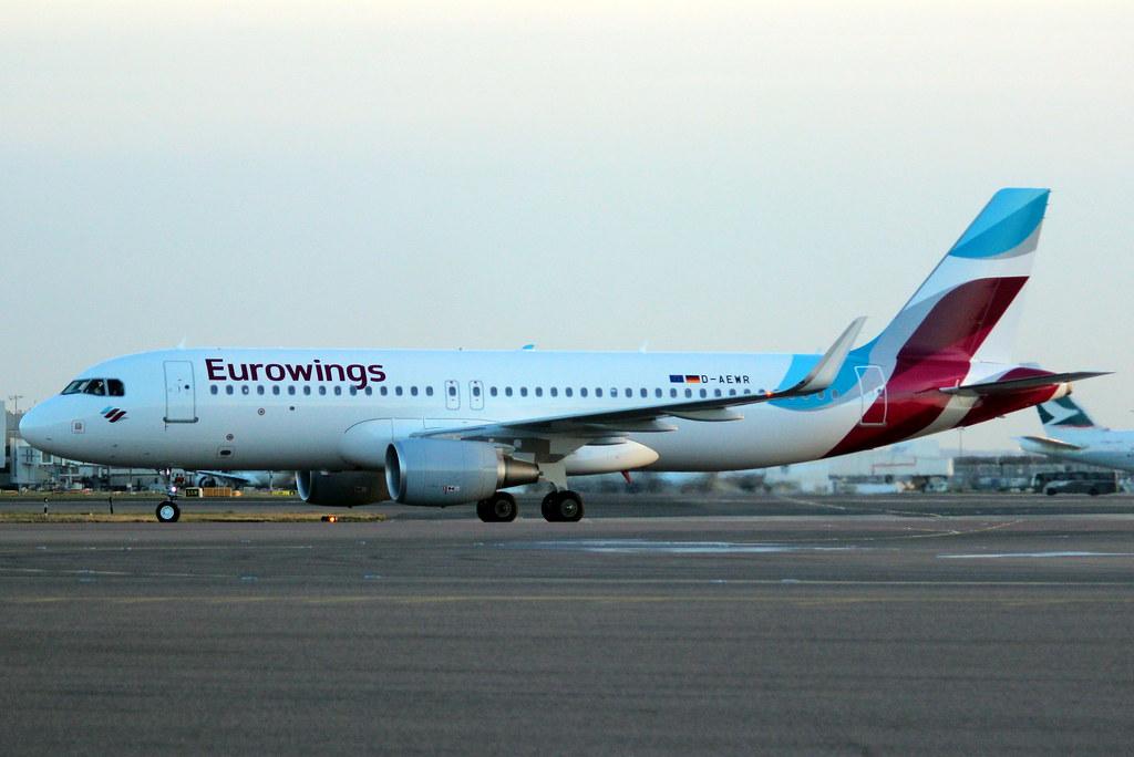 D-AEWR - A320 - Eurowings