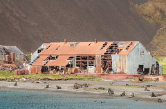 Stromness whaling station, South Georgia Island