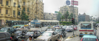 Hustle and bustle of Cairo