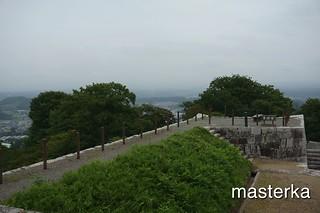 二本松城の城壁
