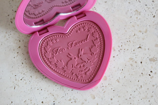Too Faced Love Flush blush in your love is king review and swatches