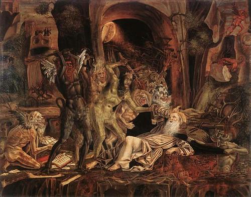 The Temptation of St Anthony by Bernardine Parenzano