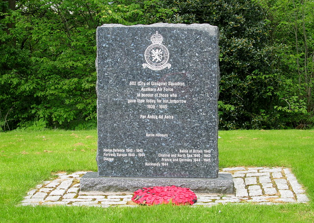 City of Glasgow Squadron War Mem