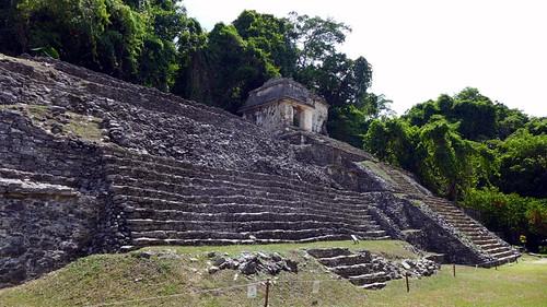 Tomba de la reina roja a Palenque