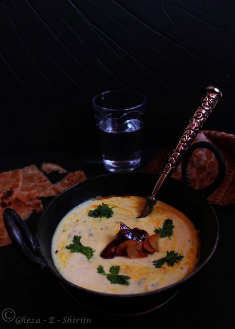 Tempered Curd/Bhagara Dahi1