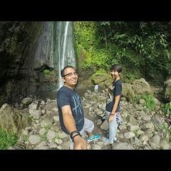 Cismun Waterfall in Cibodas, Puncak, Bogor.
