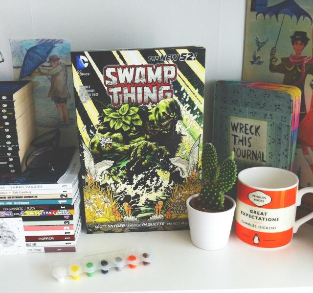 swamp thing graphic novel review vivatramp uk book blog