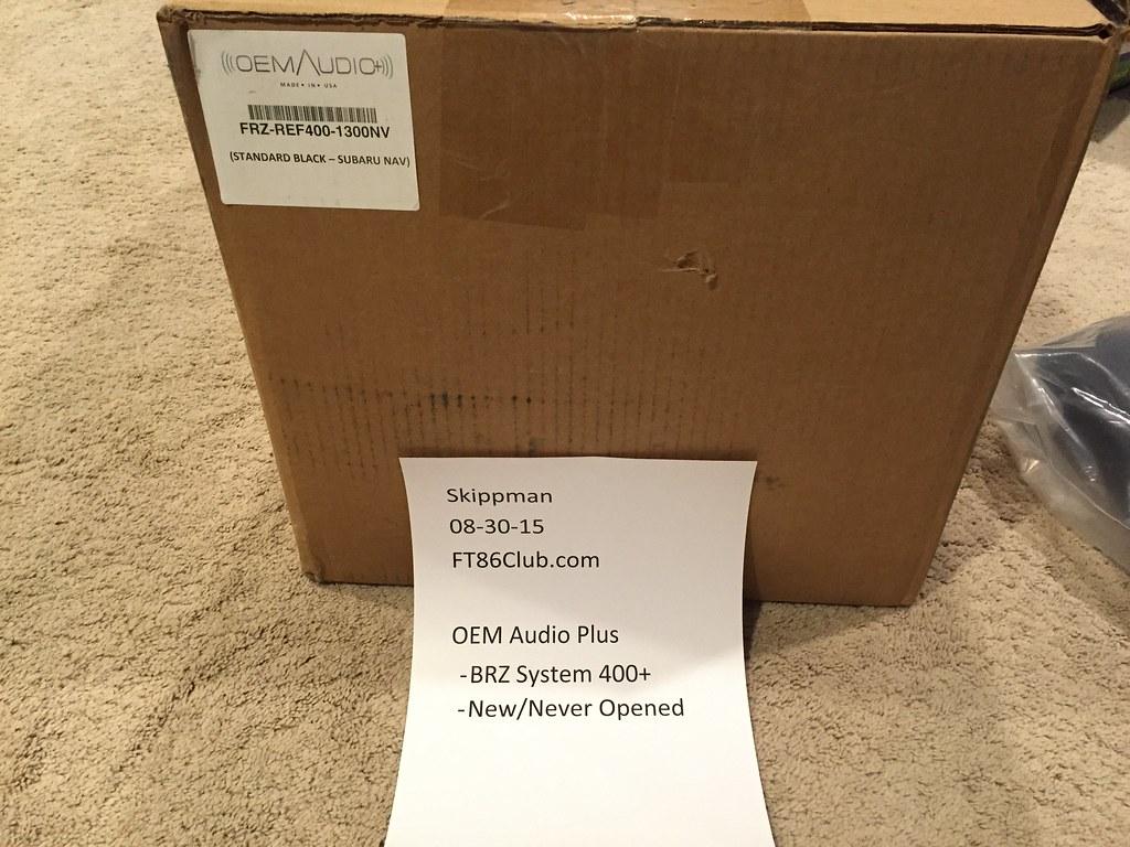Scion Frs For Sale St Louis >> FS: OEM Audio Plus BRZ System 400+ - Scion FR-S Forum | Subaru BRZ Forum | Toyota 86 GT 86 Forum ...