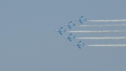 japan airplane nikon aircraft flight nikkor kawasaki wsj t4 flygplan blueimpulse d90 kawasakit4 23rdworldscoutjamboree 23rdwsj