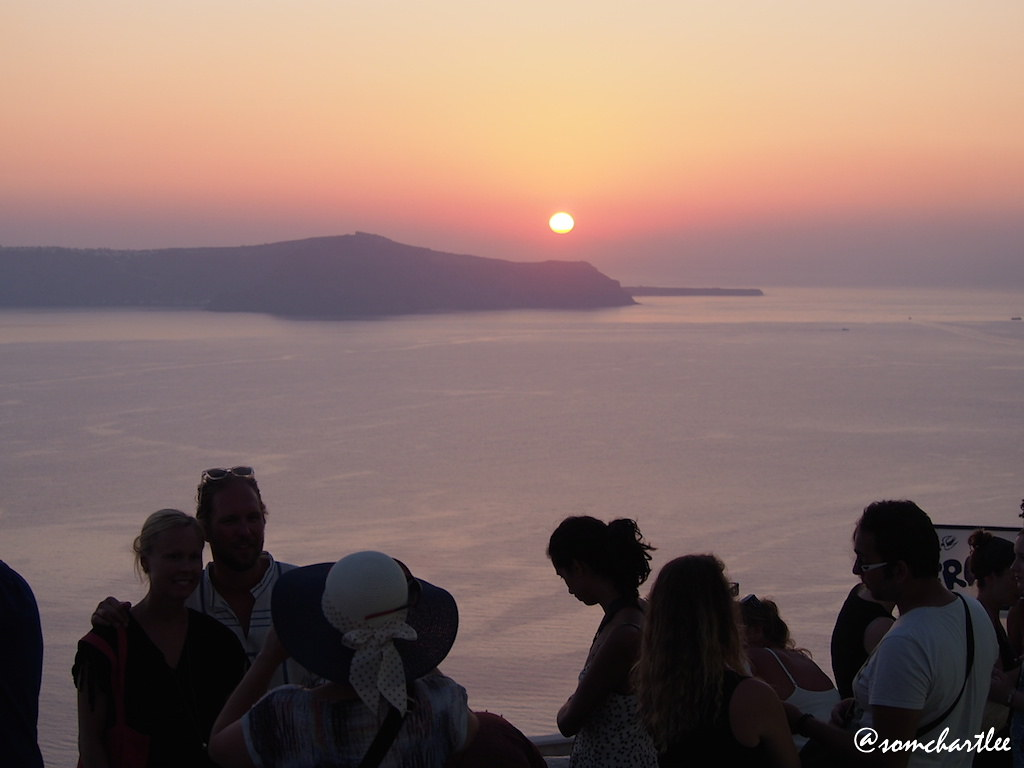 Fira sunset2