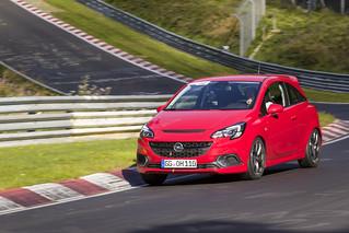 Opel Corsa OPC auf der Nürburgring-Nordschleife