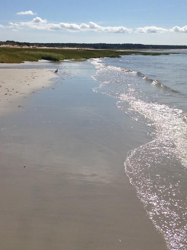 Beach visit Orleans MA